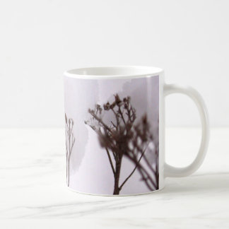 Plants in Snow  Classic White Mug