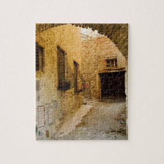 Plants in window boxes, San Gimignano, Siena Jigsaw Puzzle