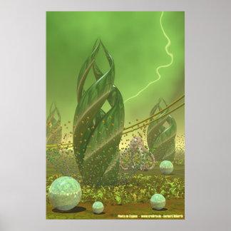 Plants of Cygnus IV Poster