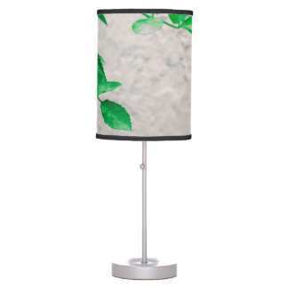 Plants over Wall Photo Table Lamp