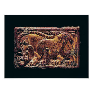 Plaque de style d'Ordos, 3ème-2ème siècle AVANT JÉ