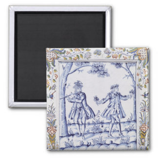 Plaque depicting a scene from 'The Magic Flute' Magnet