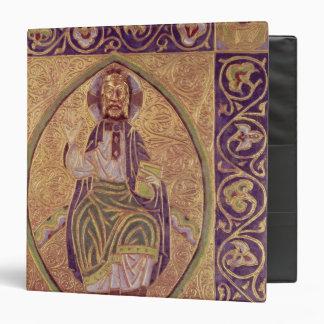 Plaque depicting Christ blessing Binder