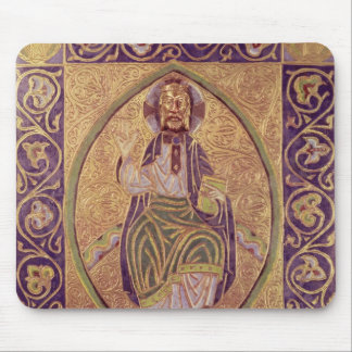 Plaque depicting Christ blessing Mouse Pad