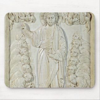 Plaque depicting Christ blessing the Apostles Mouse Pad