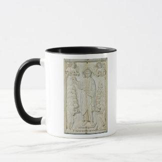Plaque depicting Christ blessing the Apostles Mug