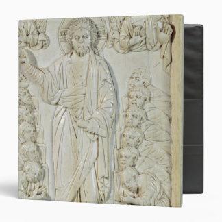 Plaque depicting Christ blessing the Apostles Vinyl Binder