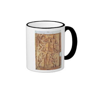Plaque depicting the Holy Women at the Tomb Coffee Mug