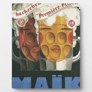 Plaque Photo affiche française originale 1929 d'art déco de