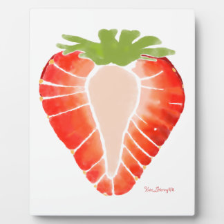 Plaque - Strawberry Secret