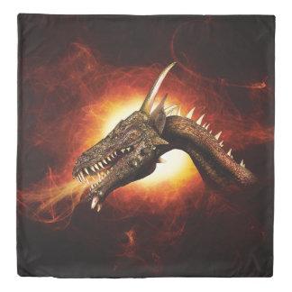 Plasma Dragon (2 sides) Queen Duvet Cover