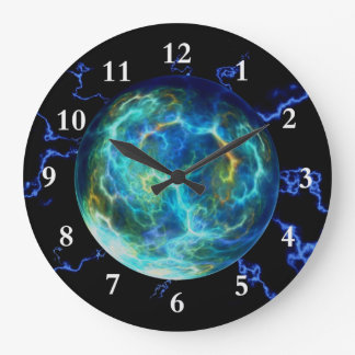 Plasma Electric Clock