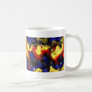 plasma fractal pattern coffee mug