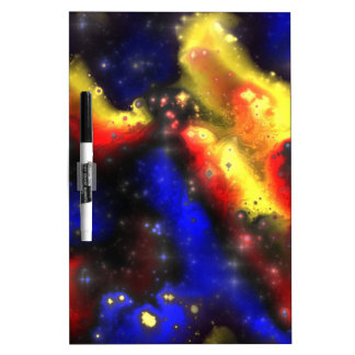 plasma fractal pattern dry erase whiteboards
