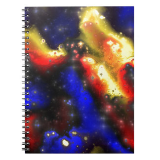 plasma fractal pattern note books