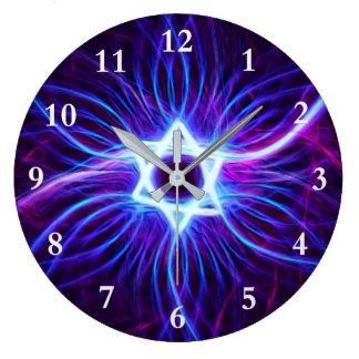 Plasma Magen Large Clock