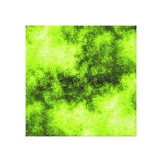 Plasma Yellow Canvas Print