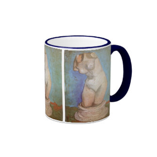 Plaster Statuette, Female Torso; Vincent van Gogh Ringer Coffee Mug