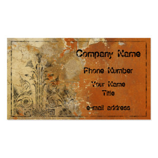 Plaster Wall Business Card