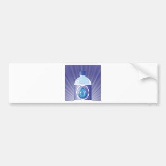 Plastic bottle bumper sticker