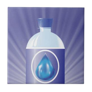 Plastic bottle tile