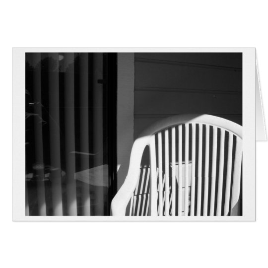 Plastic Chair - Authentic Card