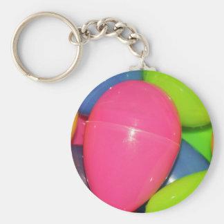 Plastic Eggs Keychain