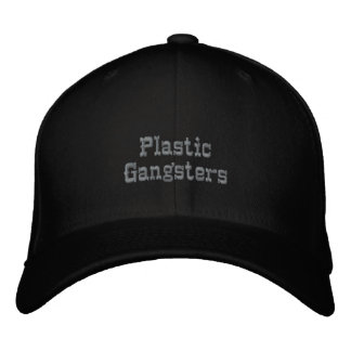 Plastic Gangsters Embroidered Baseball Caps