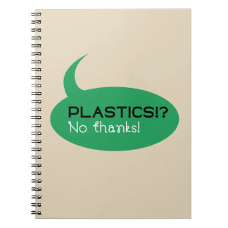Plastics!? / Photo Notebook (80 Pages B&W)