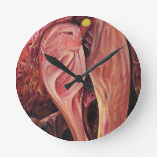 Plasty, an abstract round clock