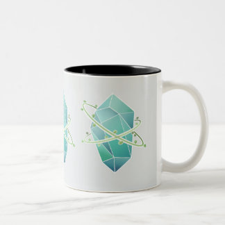 Plat Crystal Two-Tone Coffee Mug