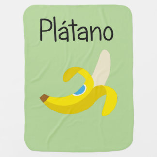 Platano (Banana) Baby Blanket