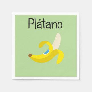 Platano (Banana) Disposable Napkins