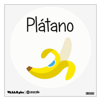 Platano (Banana) Wall Decal