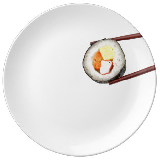 plate 2 sushi dish porcelain plate