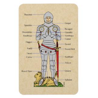 Plate Armour, Circa 1430 Magnet