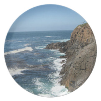 Plate-Beautiful Scenic Coastal Baja California Plate