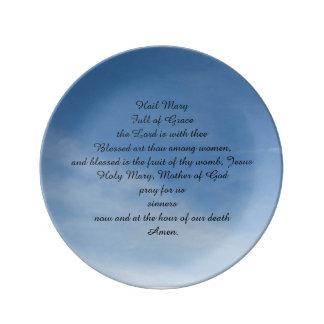 Plate Bird Maria, English Porcelain Plates