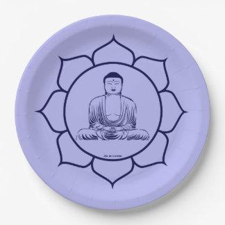 Plate Blessing Buddha medecineAlimentation