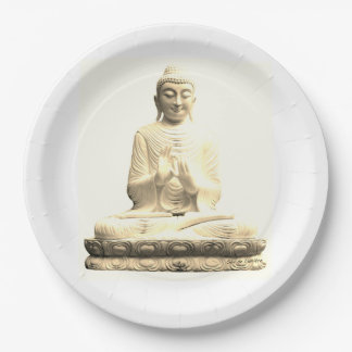 Plate Charged Blessing Buddha Food