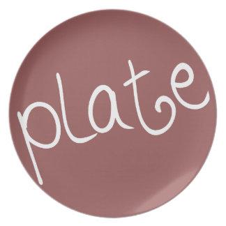 Plate (cocoa-rev)