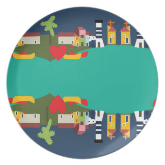 Plate Collection RIO SIDE by Soul House