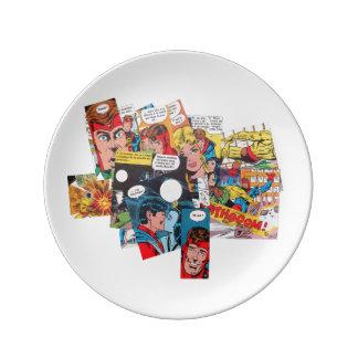 Plate comics