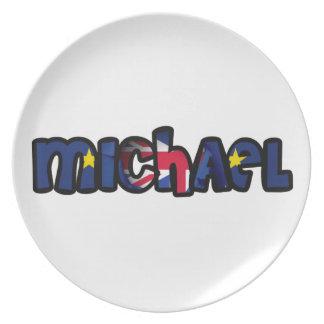 Plate customized melanin Michael