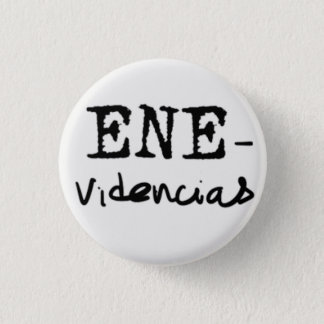 Plate ENE-divinations 1 Inch Round Button
