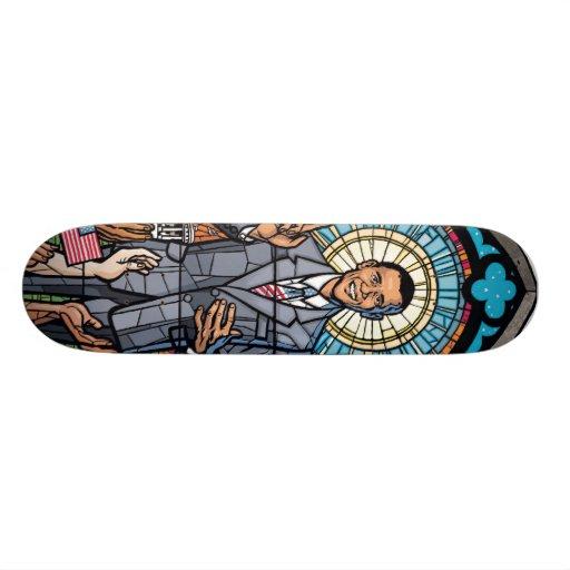 Plate-forme #1 de planche à roulettes de Barack Ob Plateaux De Skateboards Customisés