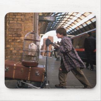 PLATE-FORME 9 3/4™ de Harry et de Hedwig Tapis De Souris
