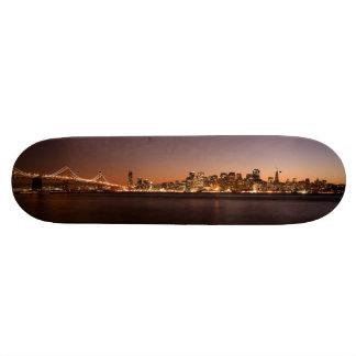 Plate-forme de panneau de patin d'horizon de San F Planches À Roulettes