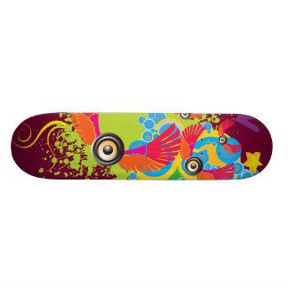 Plate-forme de partie skateboards personnalisés