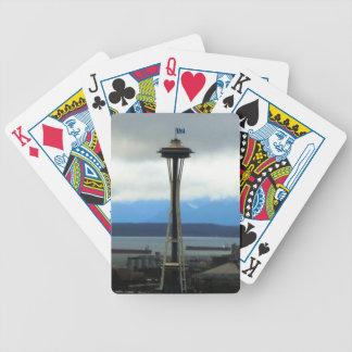Plate-forme de passioné du football de Seattle des Jeu De 52 Cartes